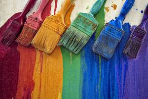 choosing a paint brush
