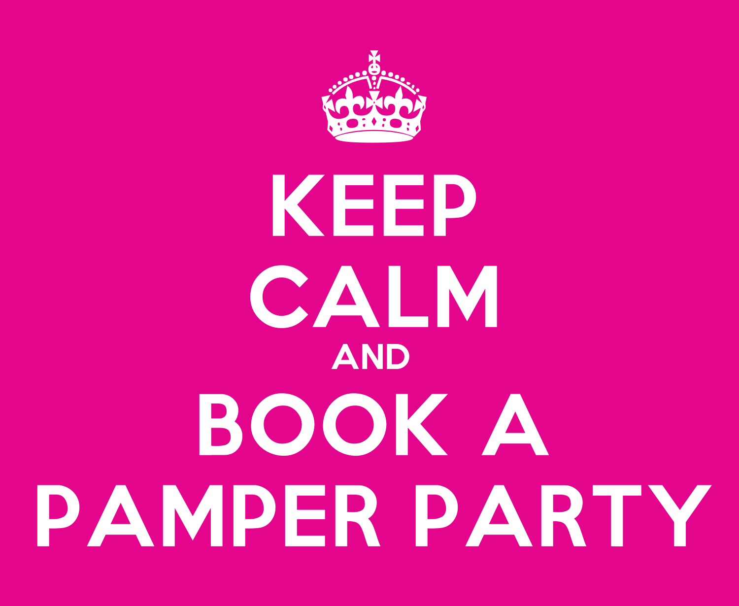 Pamper Party Hens Night Theme