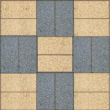 Basket Weave Paving Pattern