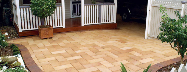 Types of Pavers: Clay Paving