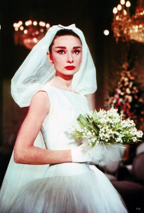Audrey Hepburn Movie Wedding Hair
