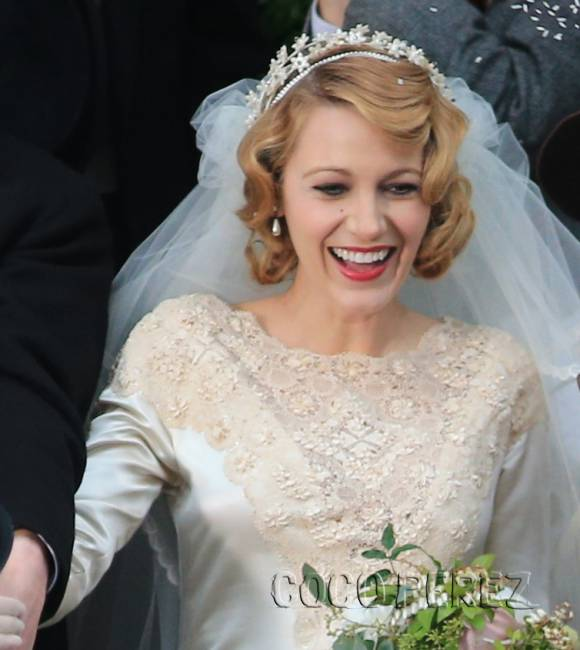 Blake Lively Movie Wedding Hairstyle