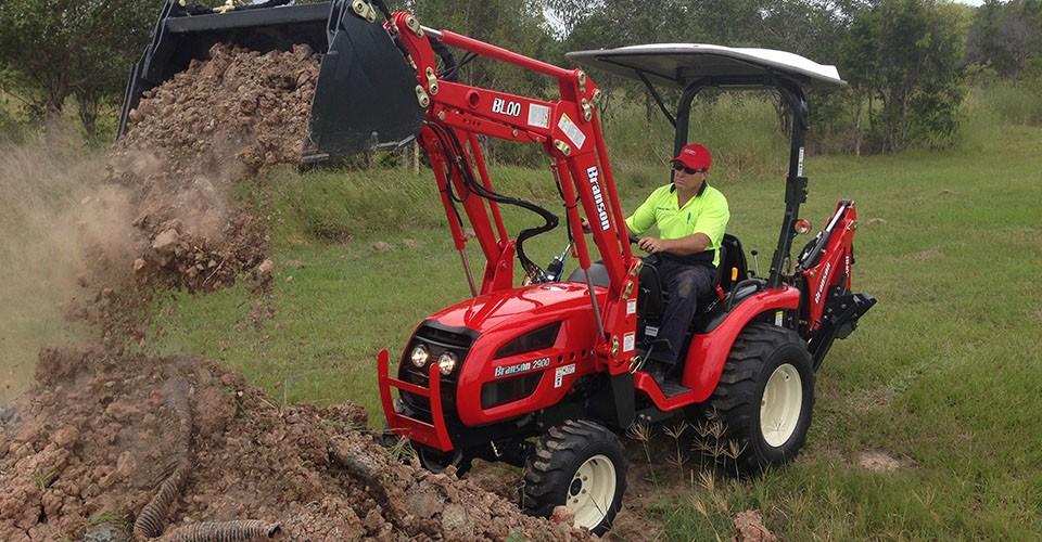 branson small tractor 2900 28HP
