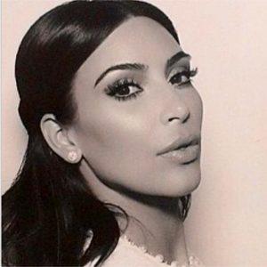 Kim Kardashian's Wedding Hairstyle