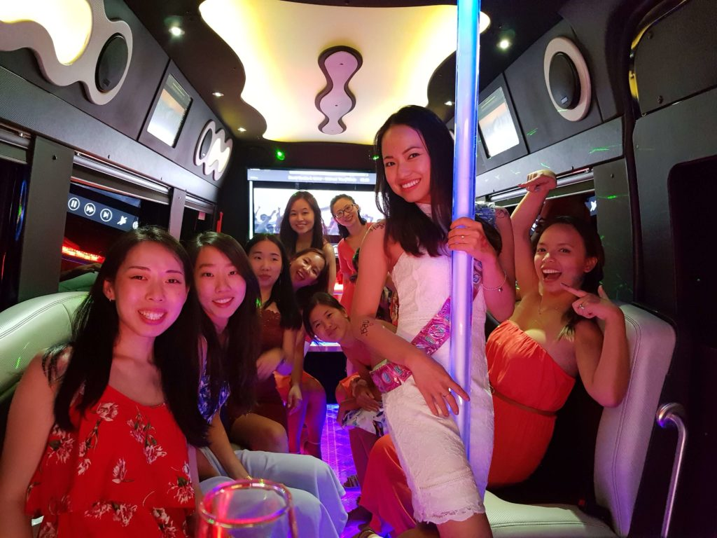 hens party limo hire