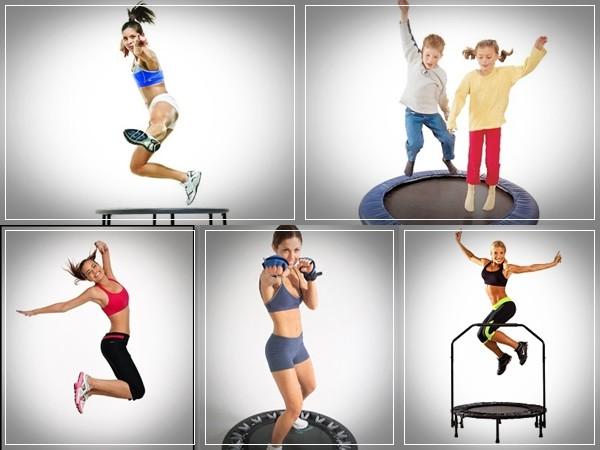 trampoline exercises