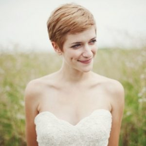 50 Wedding Hairstyles For Short Hair Inspiration