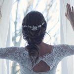 wedding dress hairstyle
