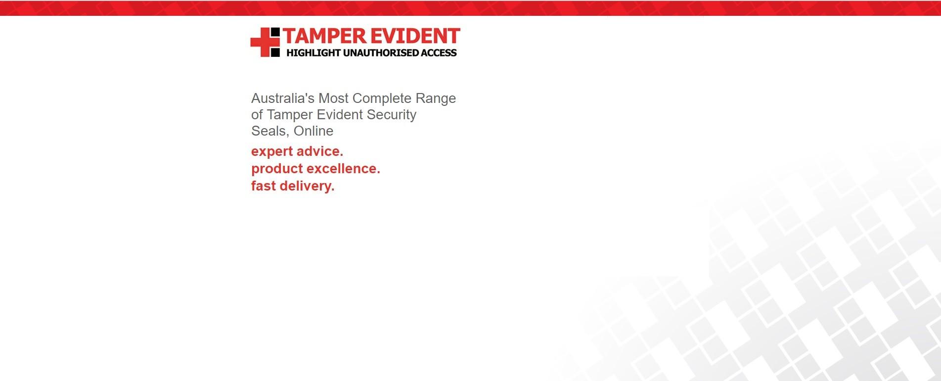 Tamper Evident