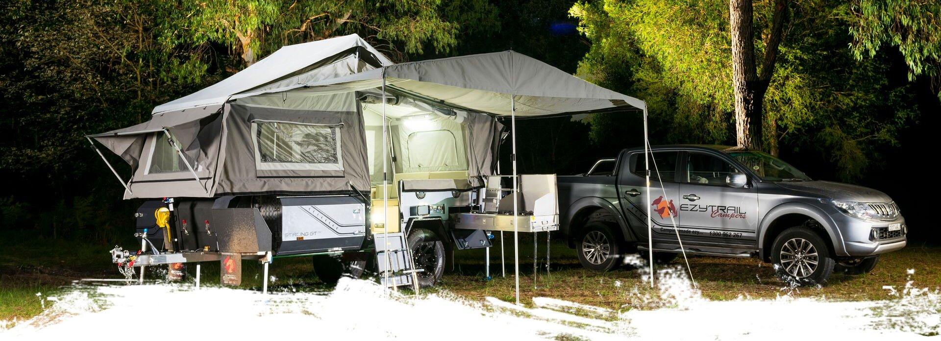 Ezytrail Camper Trailers – Camper Trailers in Australia