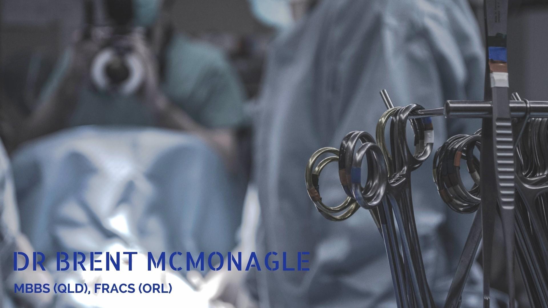 Dr Brent McMonagle