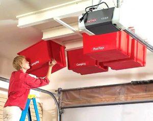 ceiling garage storage solutions