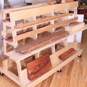 timber rack