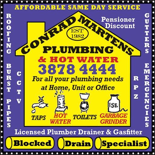 Conrad Martens Plumbing & Hot Water