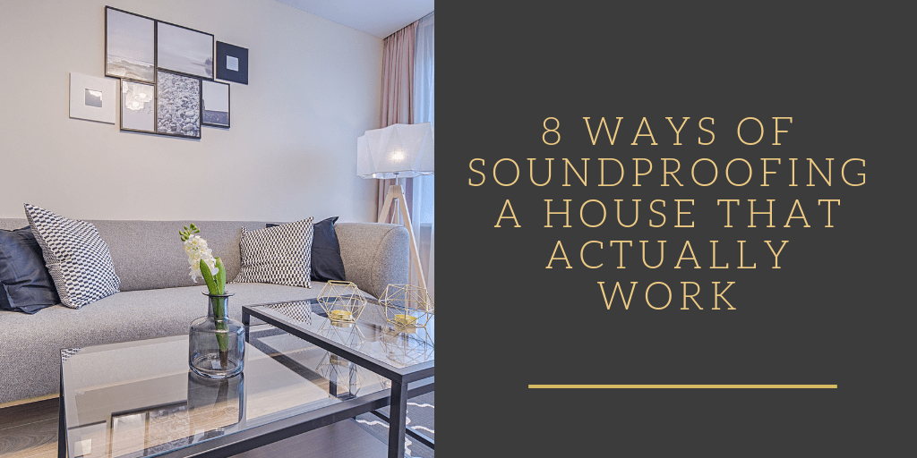 Tips for Soundproofing a house