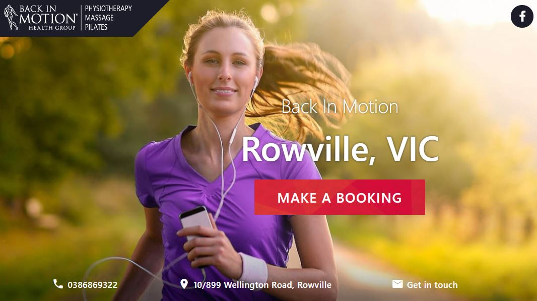 Back In Motion – Rowville
