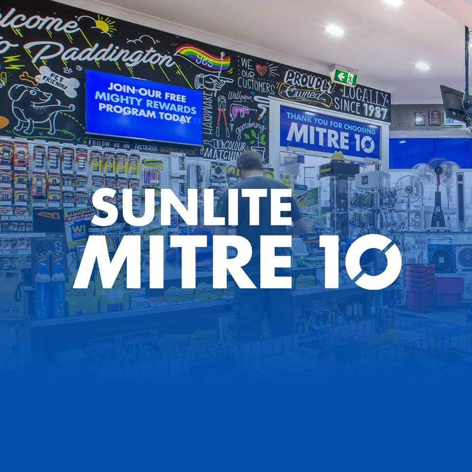 Sunlite Mitre 10 Pitt St