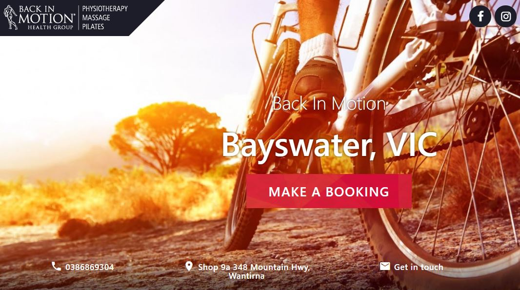 Back In Motion – Bayswater