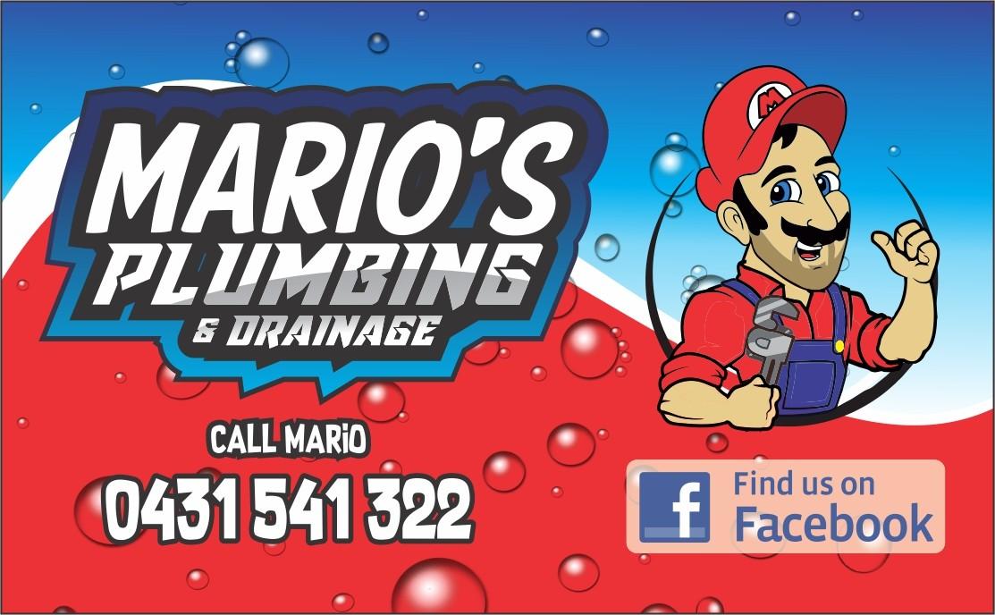 Mario's Plumbing & Drainage