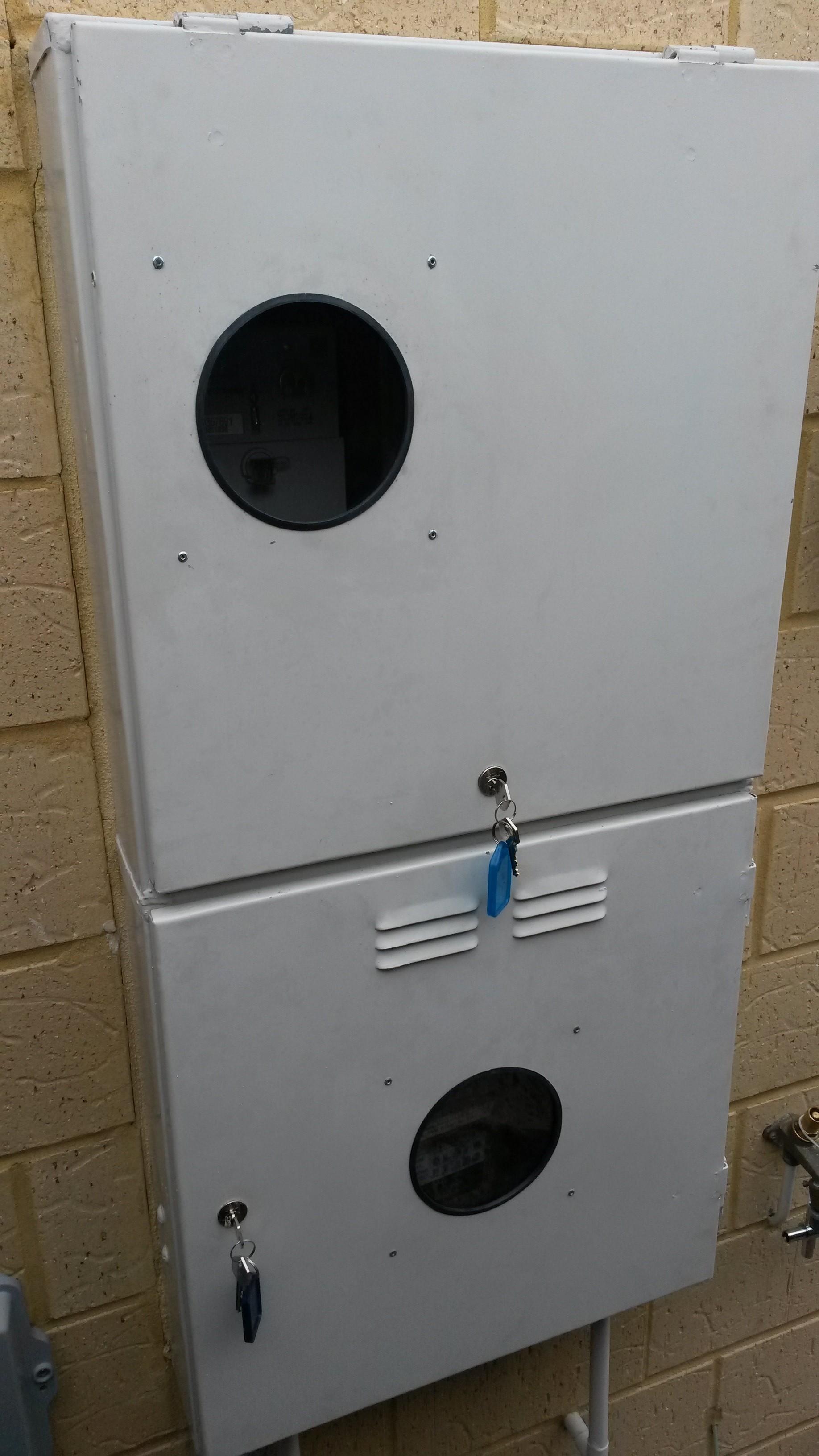 Meterbox Lock
