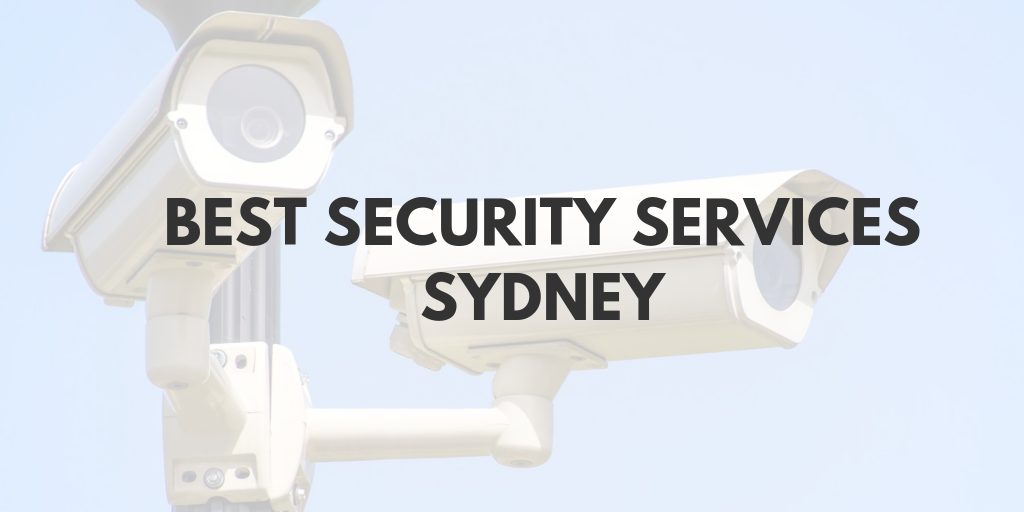 Best Security Services Sydney Banner