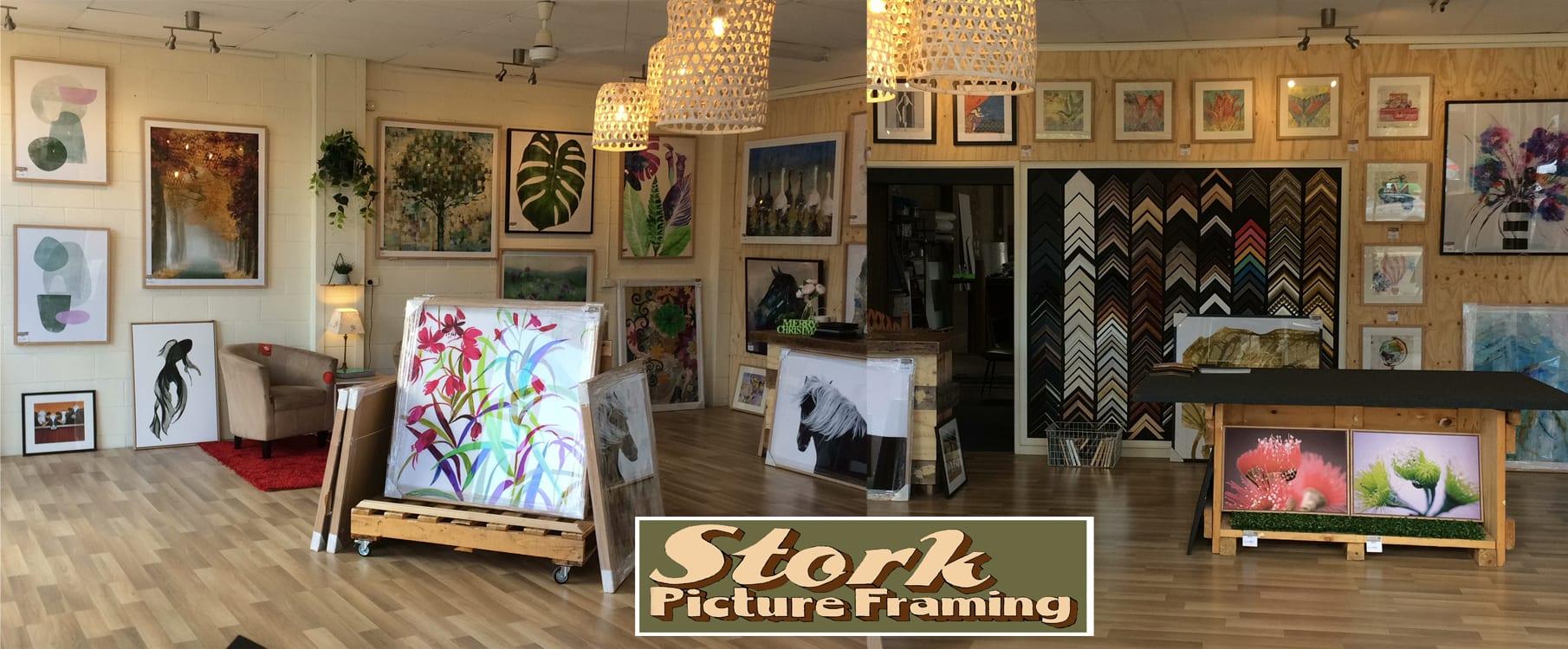 Stork Picture Framing