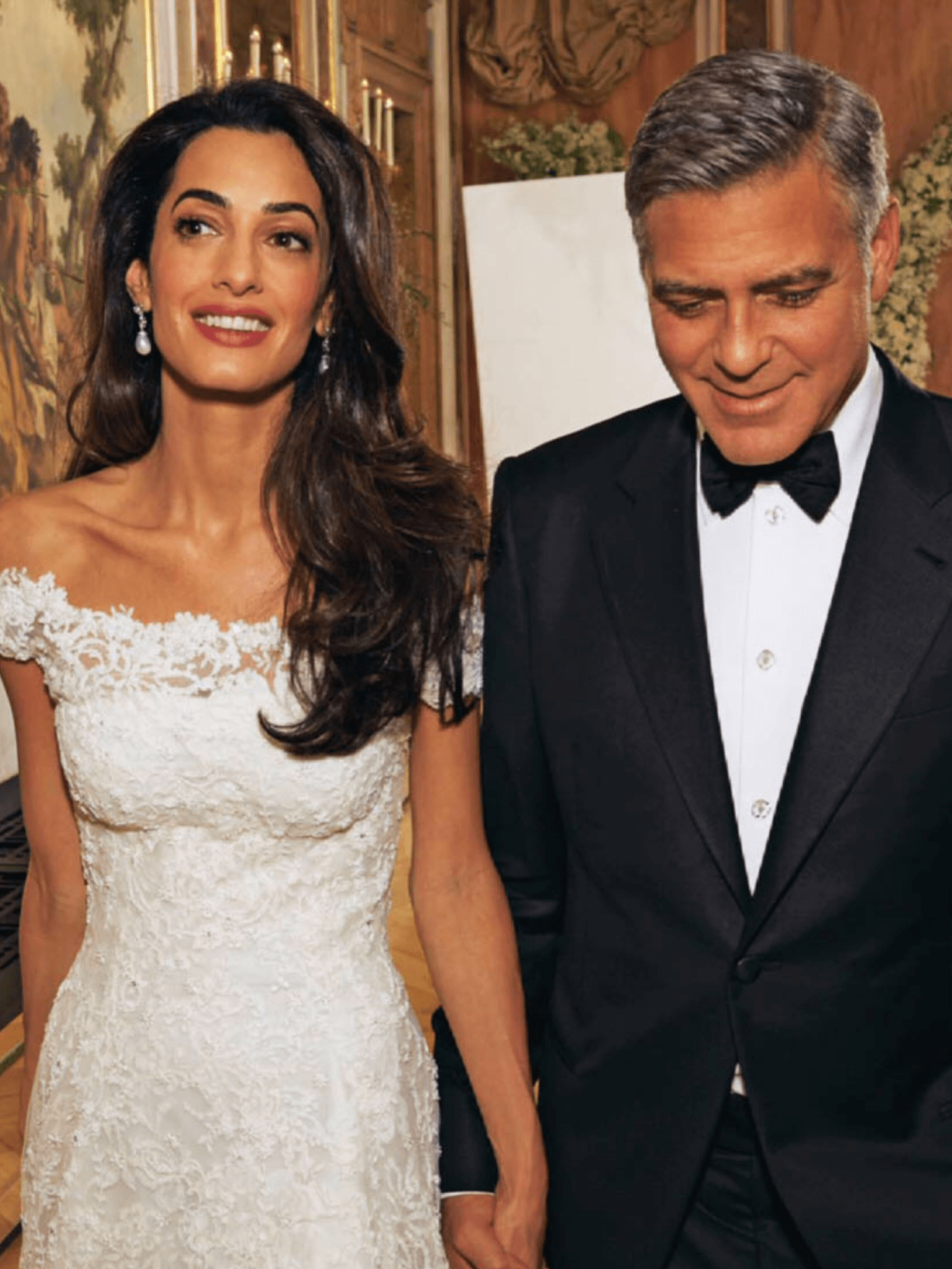 amal clooney wedding hairstyle