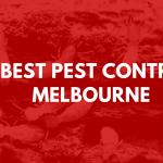Best Pest Control Melbourne Banner