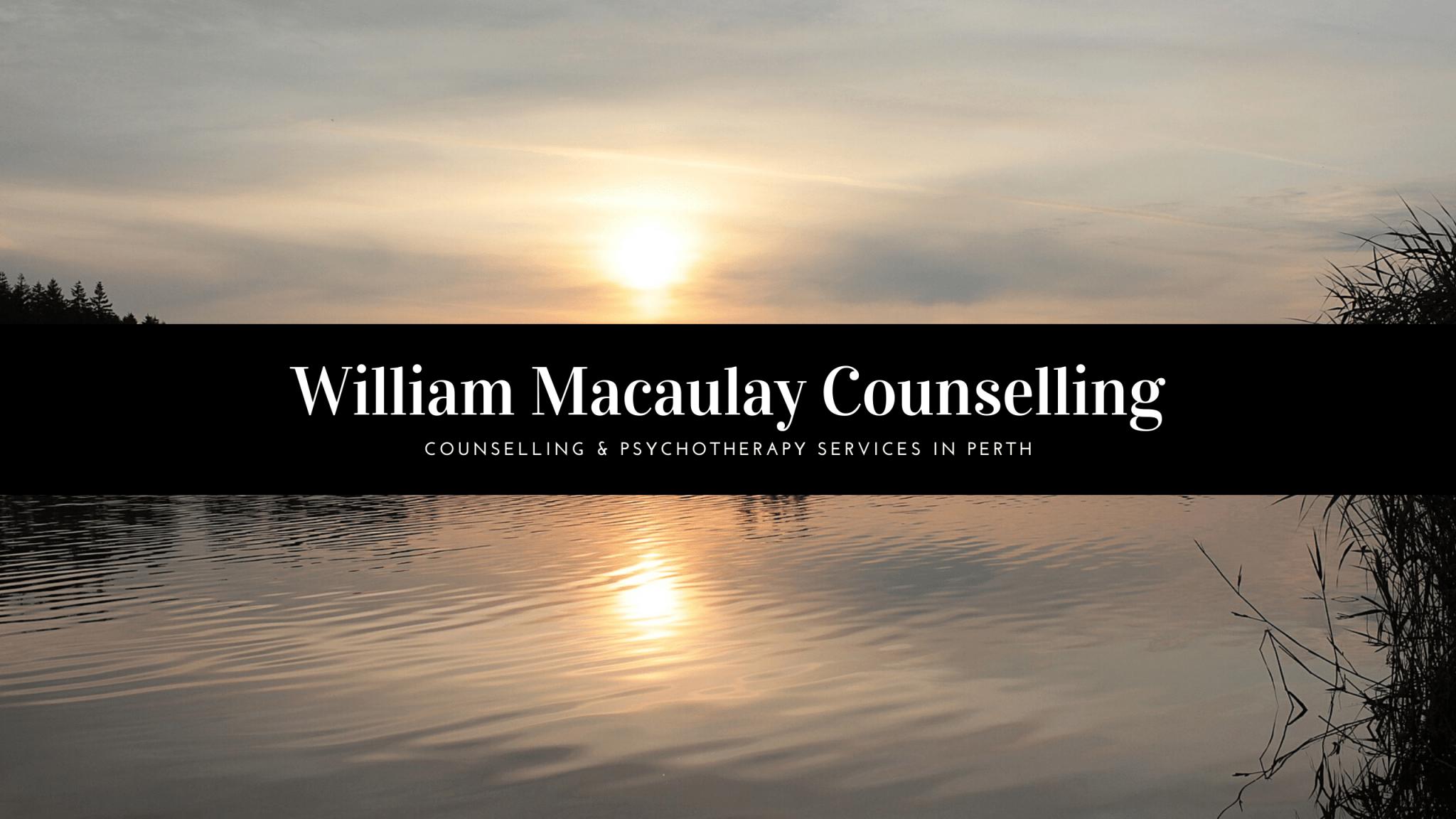 William Macaulay Counselling Perth