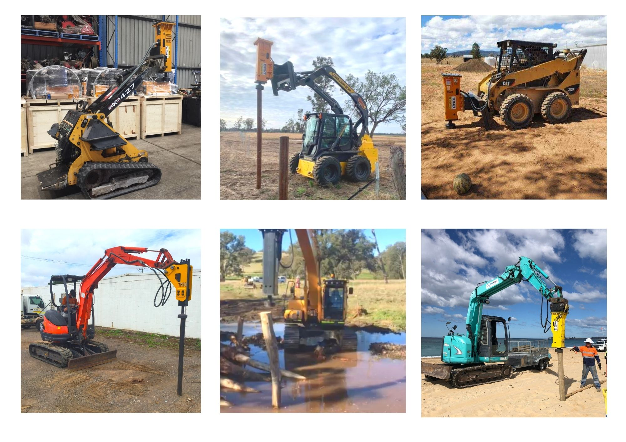 Thor Rock Breakers and Post Drivers Pty Ltd