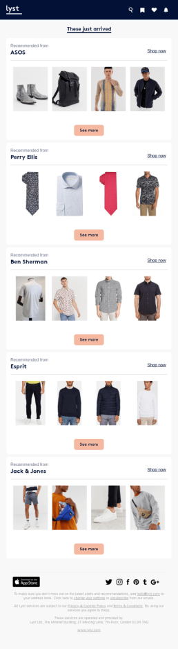 e-commerce email automation on products