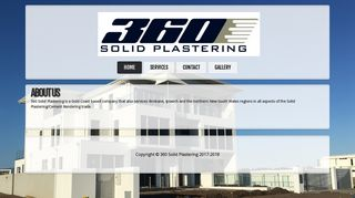 360° Solid Plastering