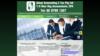 Adept Accounting & Tax Pty Ltd