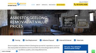 Asbestos Watch Geelong