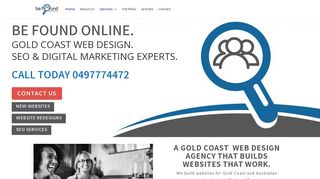 Be Found Web Design