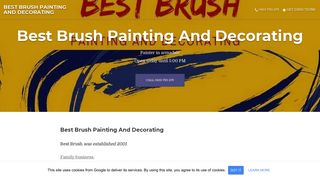 Best Brush Painting And Decorating