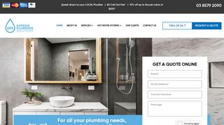 Express Plumbing Solutions Melbourne