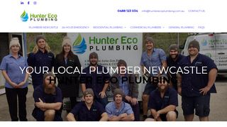 Hunter Eco Plumbing