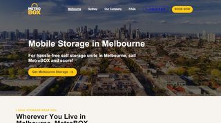 MetroBOX Mobile Self Storage