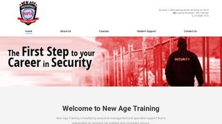New Age Training Academy