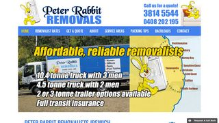 Peter Rabbit Removals