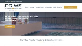 prime plumbing & gas fitting Melbourne