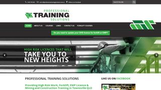 Professional Training Solutions