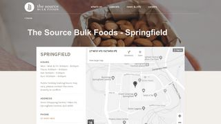 The Source Bulk Foods Springfield