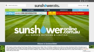 Sunshower Online