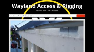Wayland Access & Rigging