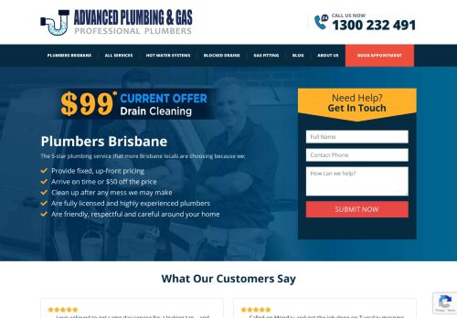 Advanced Plumbing & Gas