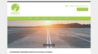 Airport Linemarking Services Australia