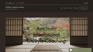 AntiStatic Lifestyle Coaching