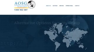 Alternative Options Security Group